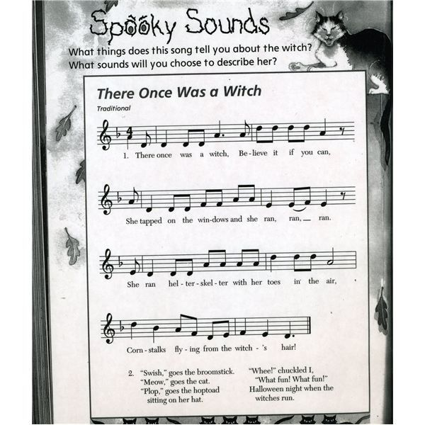 fun halloween songs for kids to use in the classroom - List Of Halloween Music