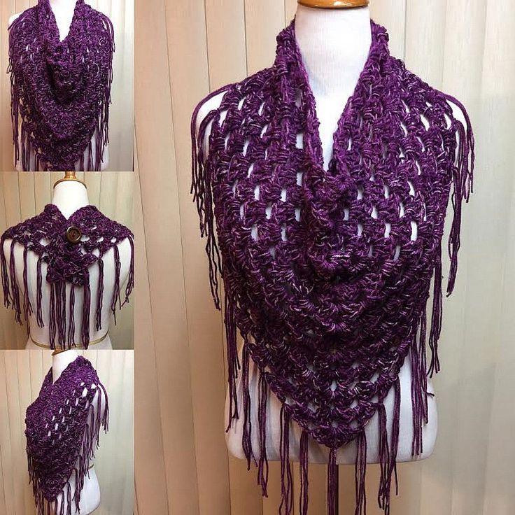 47 besten Crochet Shawls & Wraps Bilder auf Pinterest