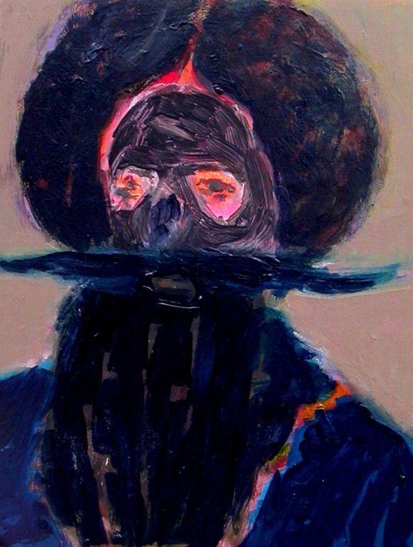 "Saatchi Online Artist: James Quin; Oil, 2012, Painting ""Morris Man"""
