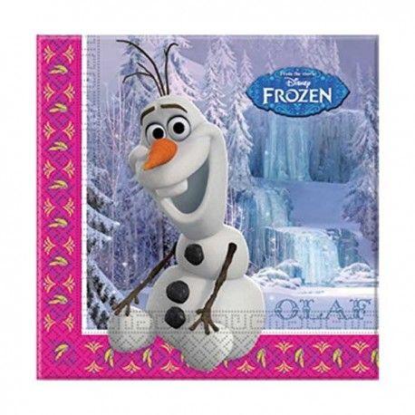 Frost, Frozen Olof servetter