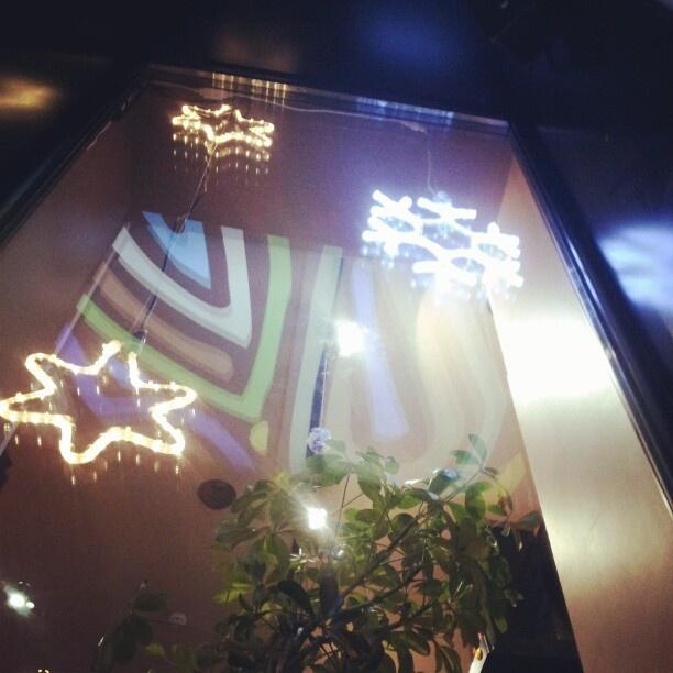 coffee christmas stars