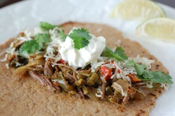Flank Steak Fajitas