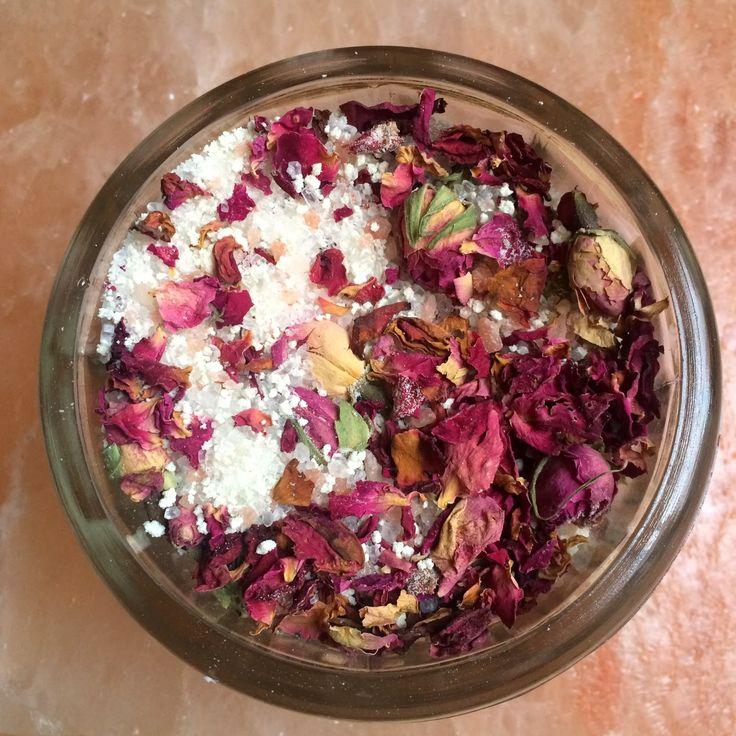Fresh Picked Beauty: True Love Rosy Bath Crystals