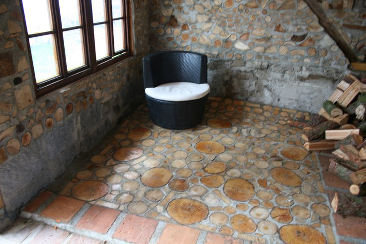 17 Best Images About Cordwood Floor Manufacture On