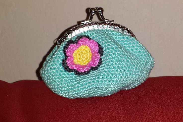 deborah haakt beursje crochet purse