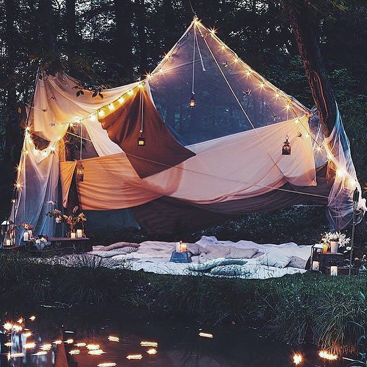 Glamping at its finest.