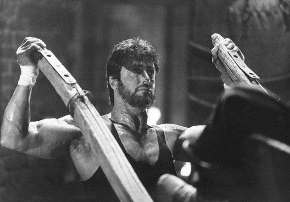"Sylvester Stallone as Rocky Balboa in ""Rocky IV"" (1985)"