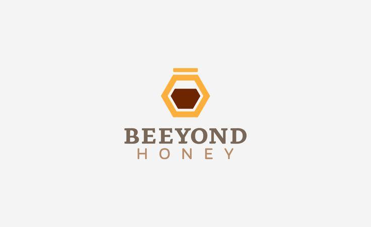 Beeyond Honey Logo Design