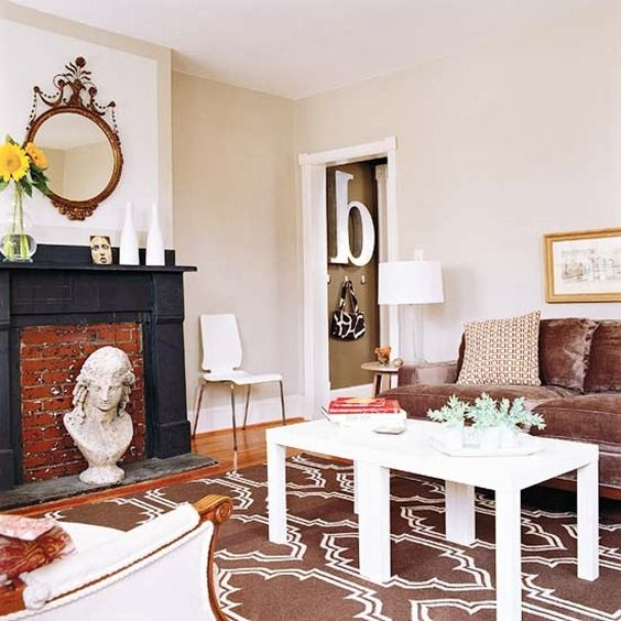 A patterned rug can boost the style of any room see kate for Living room 7 letters