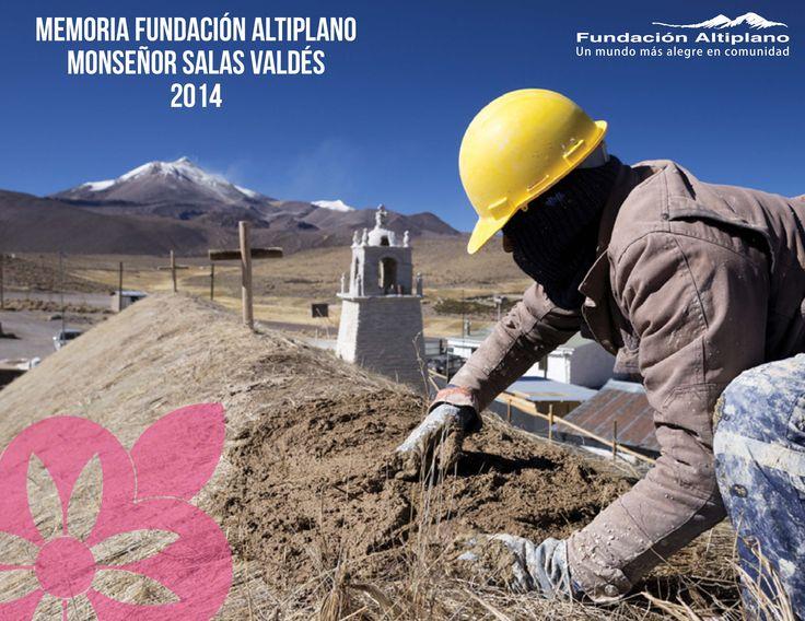 Portada Memoria Fundación Altiplano Año: 2015