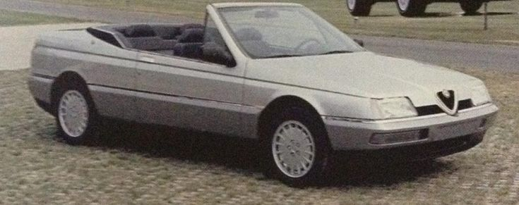 OG | Alfa Romeo 164 Convertible | Prototype