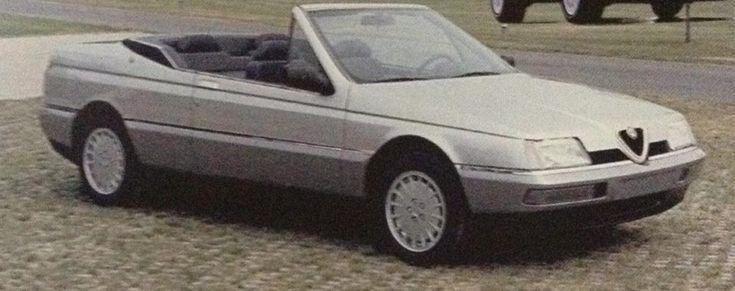 OG   Alfa Romeo 164 Convertible   Prototype