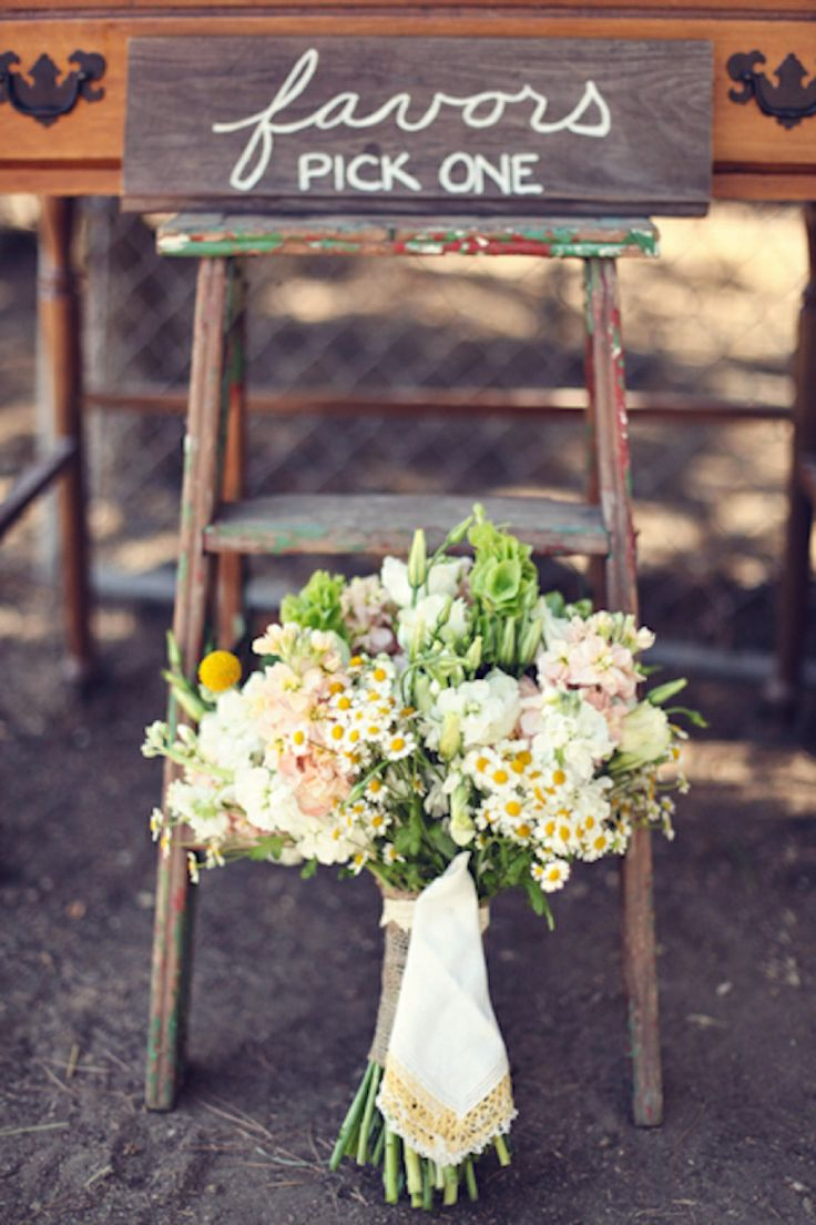Wildflower bouquet // photo by Lukas & Suzy VanDyke, see more: http://theeverylastdetail.com/country-inspired-california-wedding/