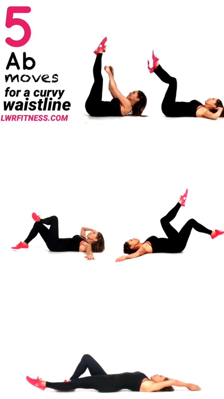 Ab & Waist Workout for Women at Home