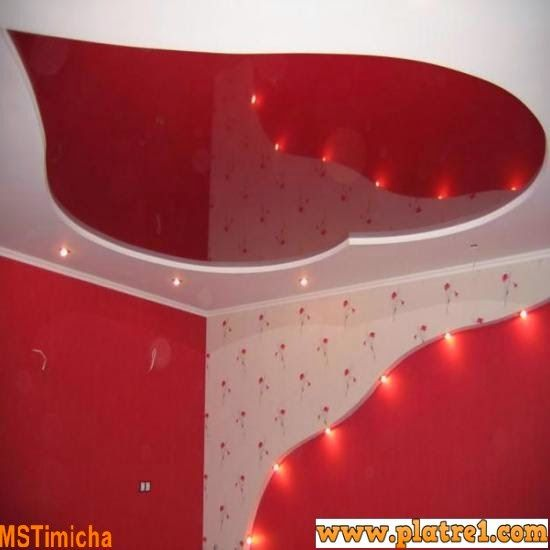 29 best images about plafond platre on pinterest plan de for Decoration plafond en platre