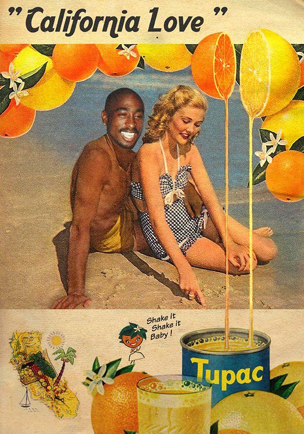 California Love / 2Pac Ads © Libitum: Shop / facebook / tumblr / behance