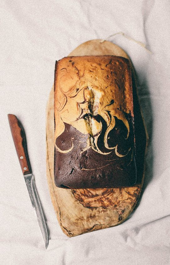 Marble Pound Cake recipe by Always with Butter
