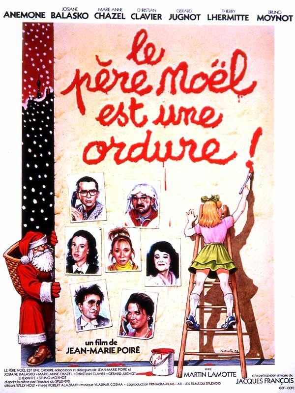 Retrouvez tout le casting du film Le Père Noël est une ordure réalisé par Jean-Marie Poiré avec Anémone, Josiane Balasko, Marie-Anne Chazel, Christian Clavier.