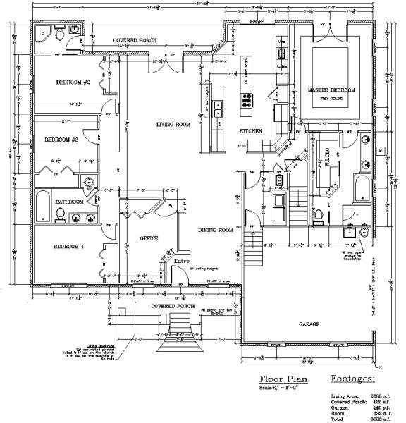 2000 sq ft homes plans bathroom bedroom garage house for 4 bedroom floor plans with bonus room