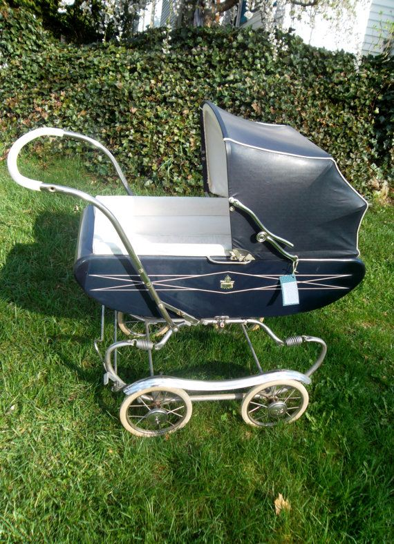 Antique Gendron McFarlane Baby Carriage..had this in white