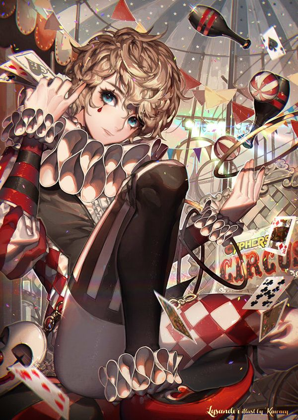 still my top favorite character: Lysander from Cyphers. Trailer—3D official versionandgame version this time with his official main outfit 2nd official outfit: