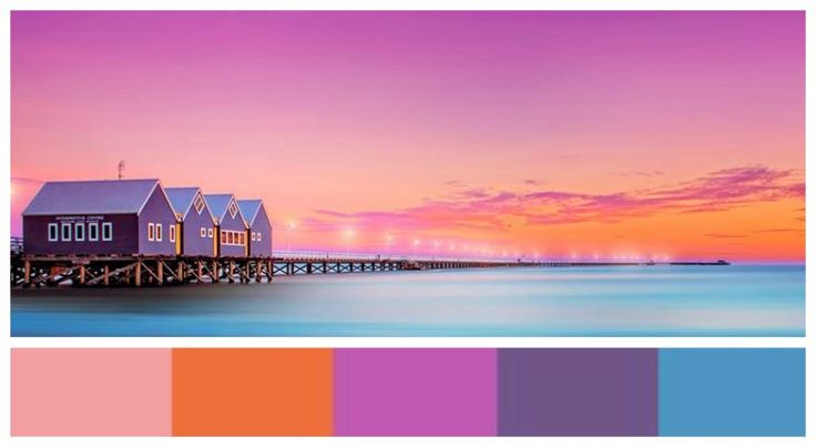 Sunset at Busselton Jetty WA [Design by Sue]