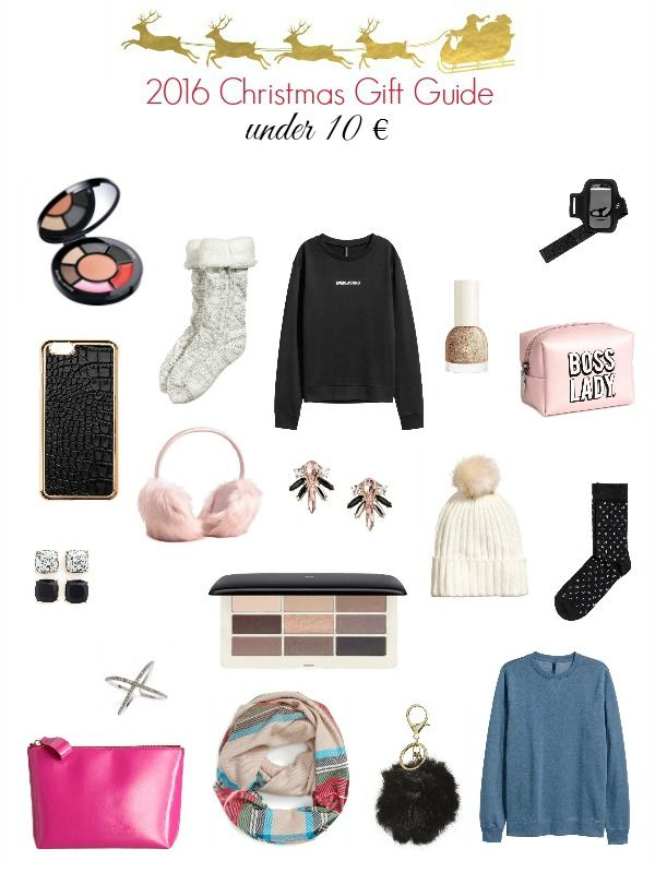Christmas Gift Guide - Under 10 euro gift ideas