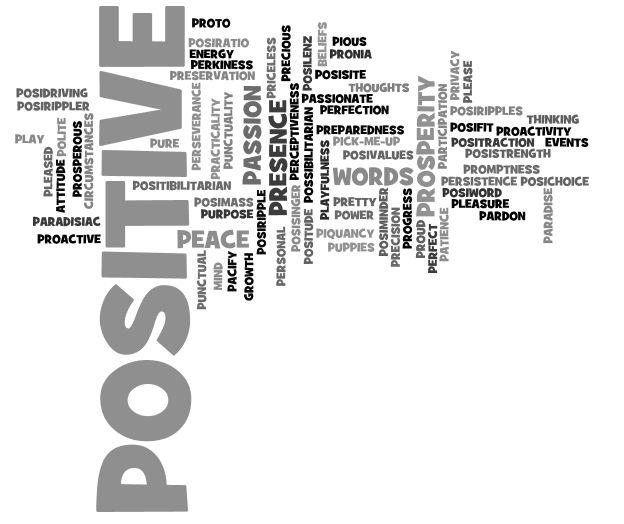 34 best Positive adjectives / Positive descriptive words
