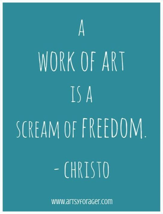 Art therapy does this for me...#arttherapy #Christo