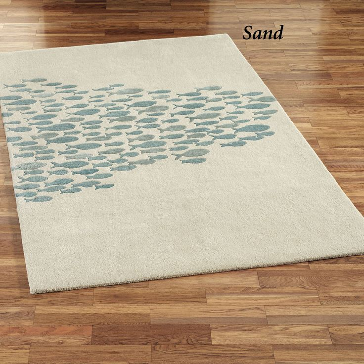 Schooled Fish Wool Area Rugs 28 best
