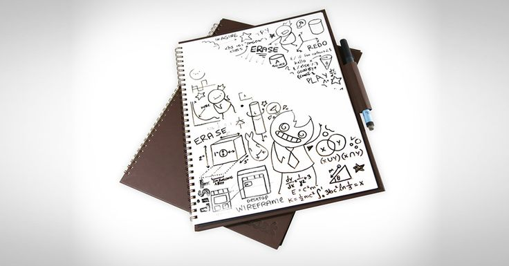Iti place sa desenezi? Atunci avem ceva special pentru tine! Se numeste Wipebook Pro si este un carnet inteligent. Afla mai multe pe MenKit! #Wipebook #WipebookPro #carnet #caiet #smart