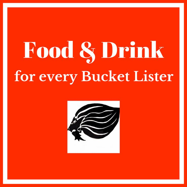 Bucket List Food & Drinks - cover