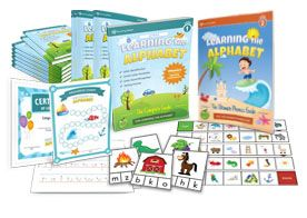 The Learning the Alphabet is a comprehensive ABC program and includes everything you need to effectively teach the alphabet and help your child to build a strong reading and writing foundation.