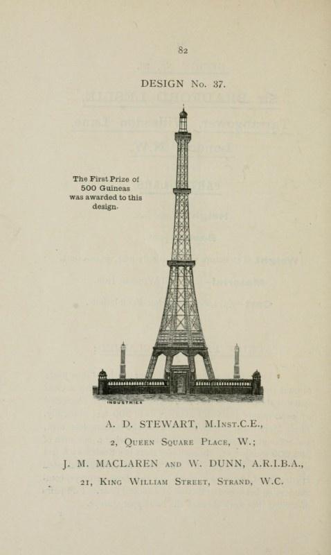 見てみたかった!完成しなかったロンドンの幻の塔のデザイン案 – Great Tower of London -