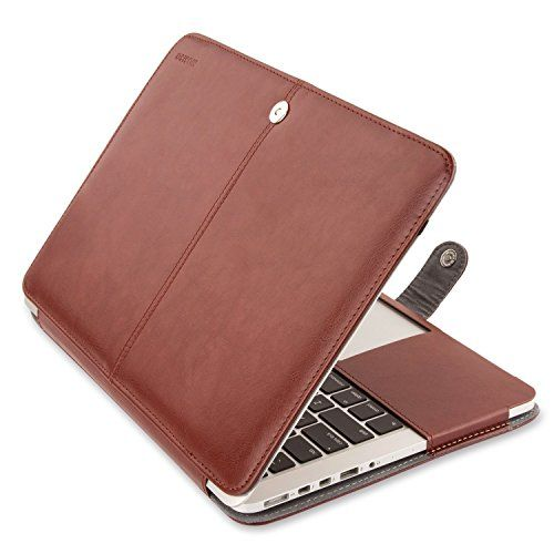 MacBook Pro 15 inch Sleeve Case with Retina Display (NO CD-ROM Drive), Mosiso Brown Premium PU Leather 15.4 Folio Case Cover with Stand Function (Models: A1398) (Brown) with One Year Warranty Mosiso http://www.amazon.com/dp/B00P5GI1DC/ref=cm_sw_r_pi_dp_eLQVwb1Z8XW25
