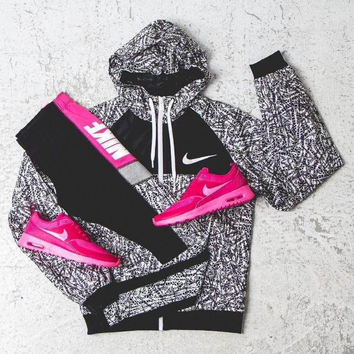 Nike workout clothes for women @ http://www.FitnessGirlApparel.com