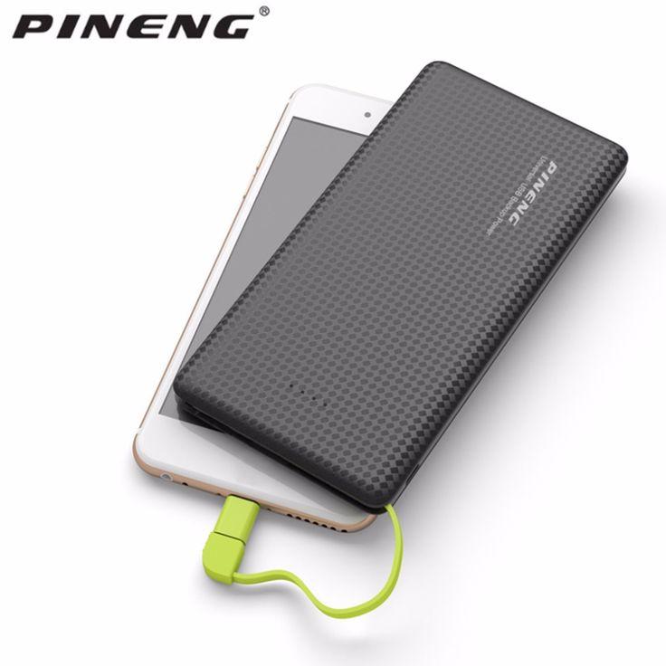 100% Original PINENG PN-951 10000mAh Portable Fast Charging Battery Mobile Power Bank Dual USB Output Li-Polymer Charger #Affiliate