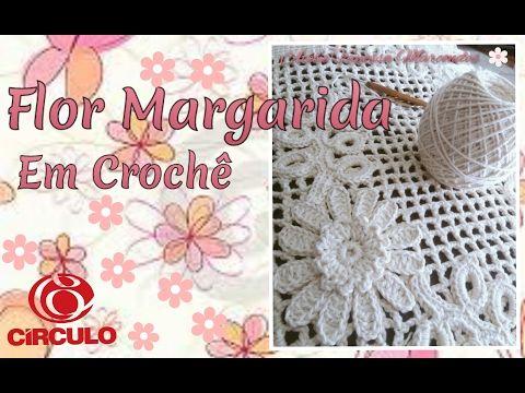 Tassel em Crochê e flor para aplicação em Bolsa de praia Por Vanessa Marcondes . - YouTube