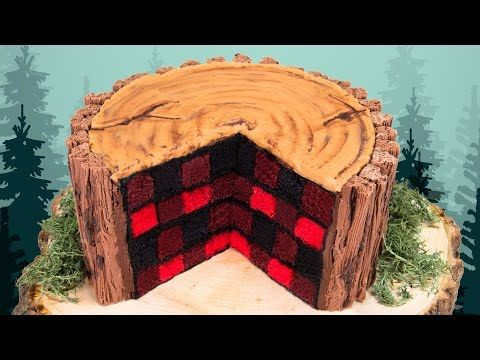 This Lumberjack Cake Is So Cool (And Surprisingly Easy To Make!) - Simplemost