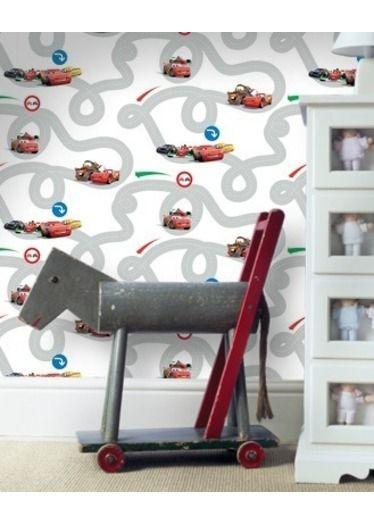 Disney Cars Wallpaper - White