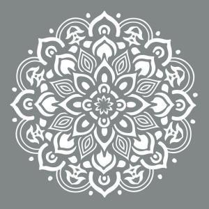 DecoArt Americana Decor 10 in. x 10 in. Mandala Stencil ADS505-B at The Home Depot - Mobile
