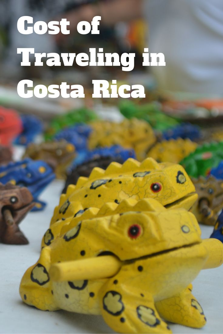 Cost of Traveling in Costa Rica 110