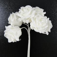 Wedding Collection Glitter and Bead Rose Bundle