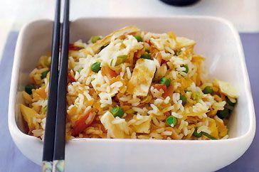 Easy peasy fried rice