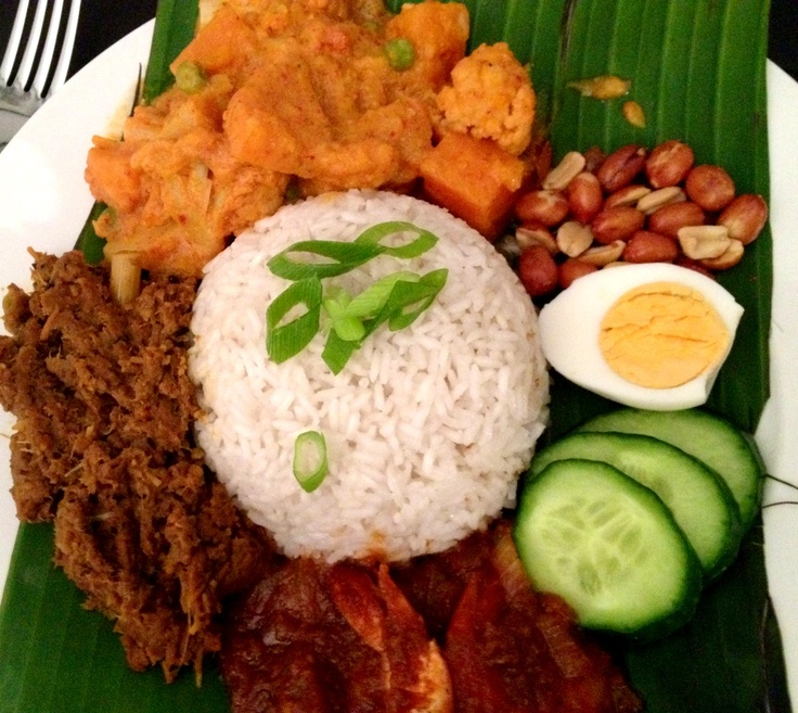 Malaysian Nasi Lemak cooked in a Thermomix #thermomix #frommykitchen