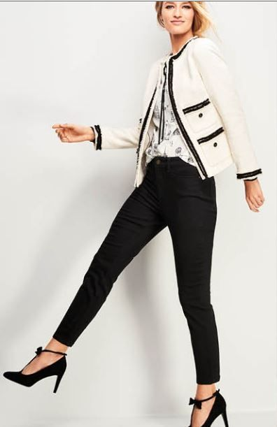 Talbots Fall 2017 - very French inspired. I can't wait for the jacket
