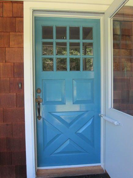 Fine paints of europe zuider zee blue dutchlac front door for European front doors