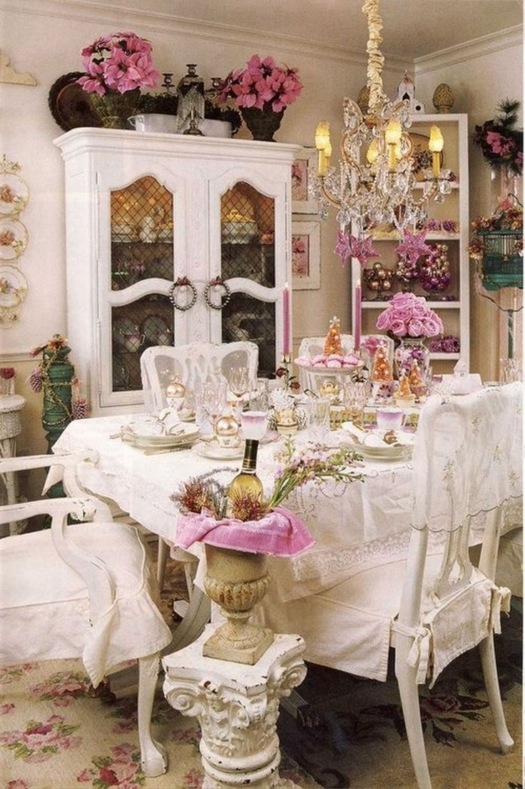 Best 25+ Shabby chic dining ideas on Pinterest | Dining table with ...