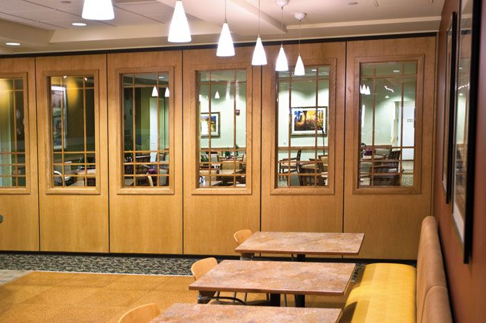 Modernfold Operable Partitions - Acousti-Seal® 911/931/Encore™ Single Panel Systems