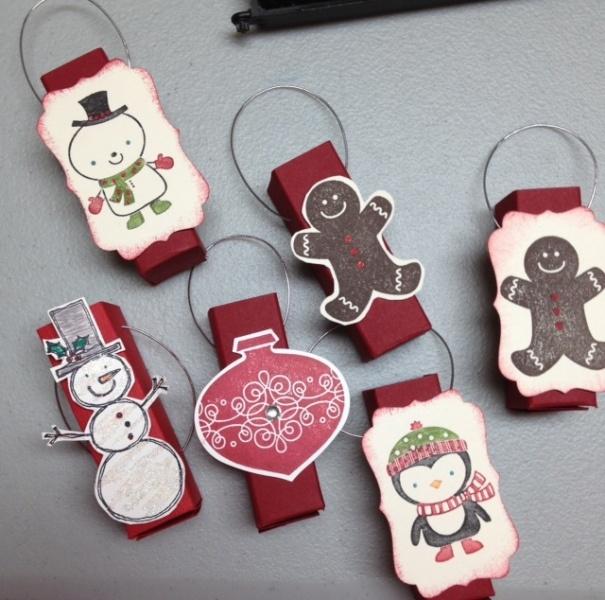 Christmas Chapstick Holders